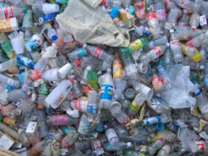 plastic waste in landfills